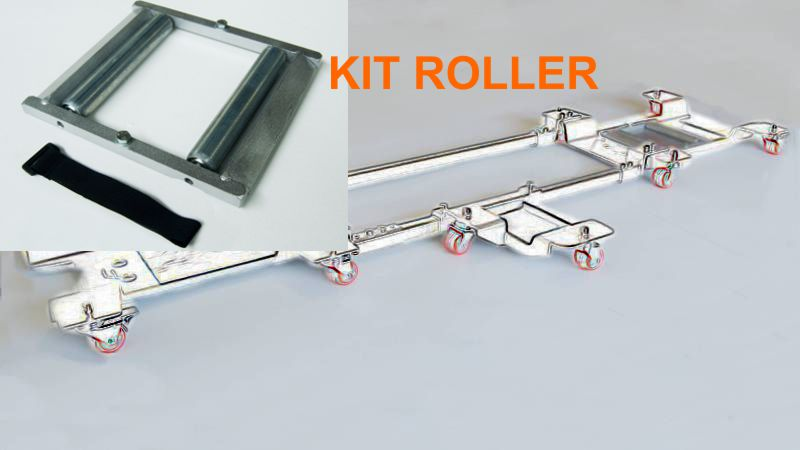 Kit Roller Ingrassaggio catena
