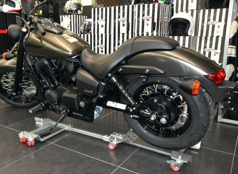 Ft1c ft1c max carrello spostamoto per custom per for Cavalletto sposta moto