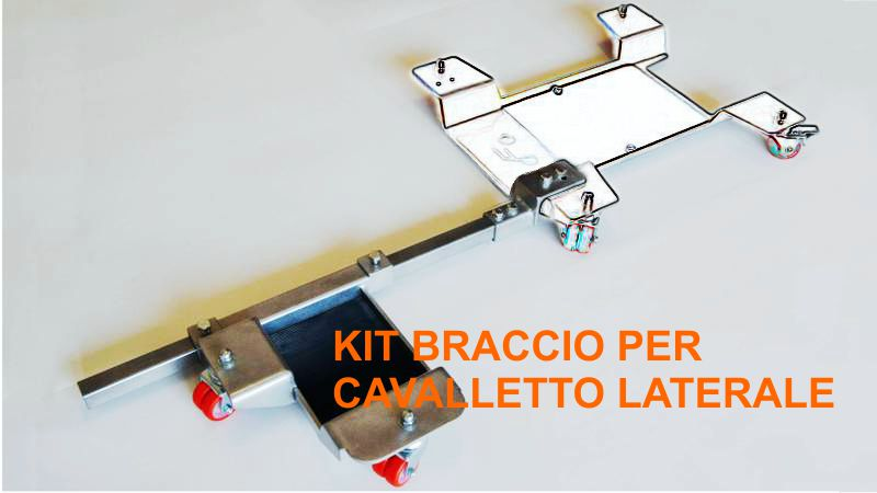 KIT BRACCIO PER CAVALLETTO LATERALE carrello sposta moto