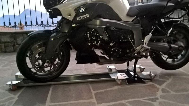 Ft1c plus ft1c plus max carrello spostamoto per custom for Carrello sposta moto cavalletto laterale